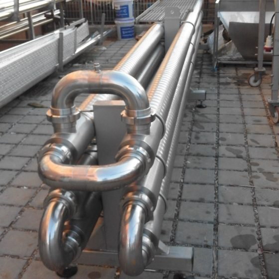 Scambiaotre tubo in tubo -1-