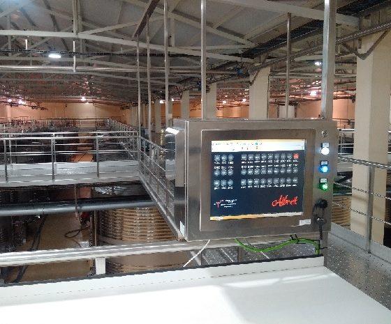 Sistema controllo temperatura 3